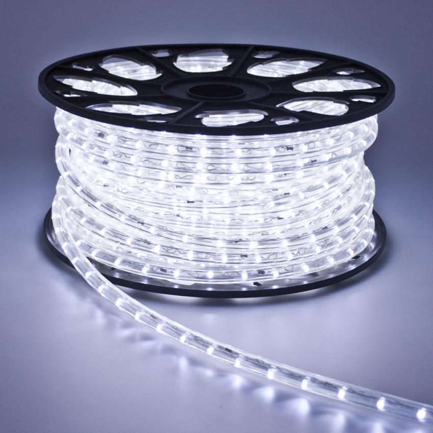 Mangueira LED 220V AC 36 LED/m Branco Frio IP65 Corte à Medida a cada 100cm