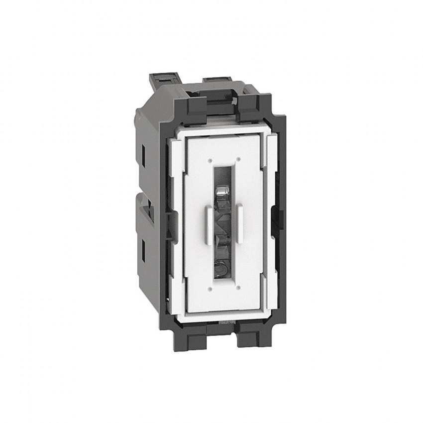 Mecanismo Interruptor Simple 1 Módulo 10 AX 250V AC BTicino Living Now K4001A