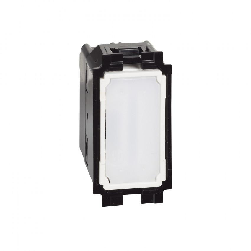 Mecanismo Interruptor Cruzamiento 1 Módulo 10 AX 250V AC BTicino Living Now K4004