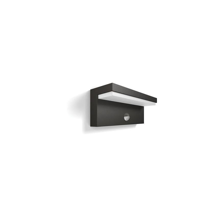 Aplique LED con Sensor de Movimiento 2x4.5W PHILIPS Bustan