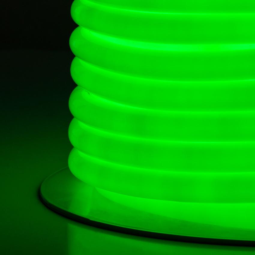 Bobina Neón Circular LED Flexible 120LED/m Verde 50 Metros