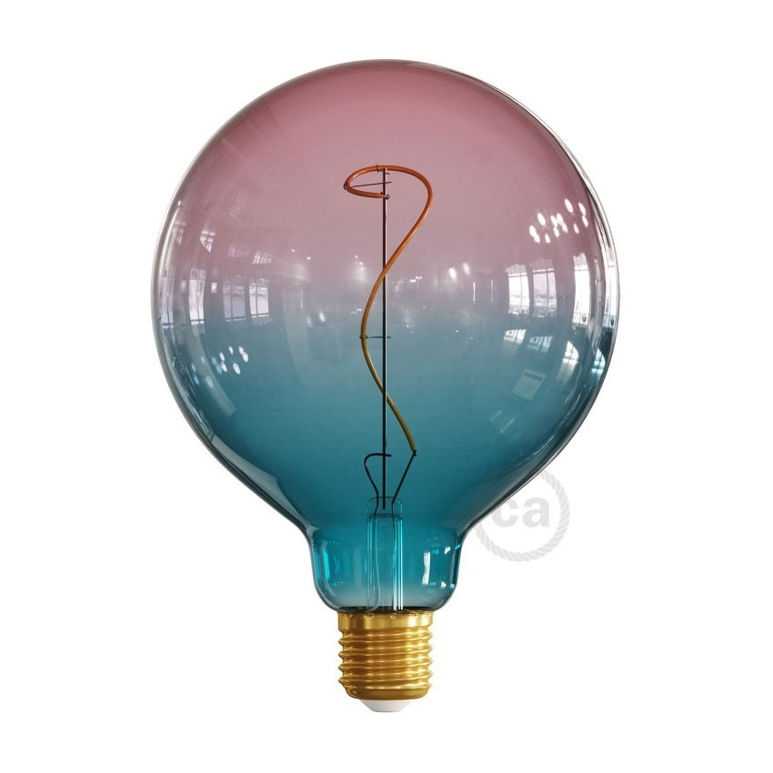 Bombilla LED E27 Regulable Filamento 4W G125 Creative-Cables Dream Modelo ES18G125DR