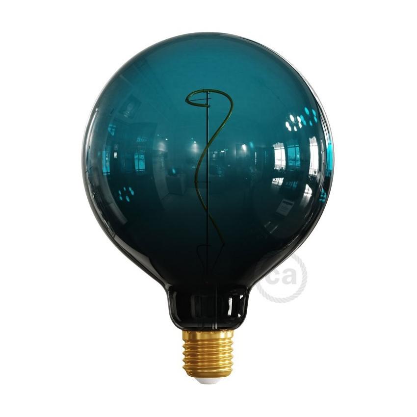 Bombilla LED E27 Regulable Filamento 4W G125 Creative-Cables Dusk Modelo ES18G125DGLB