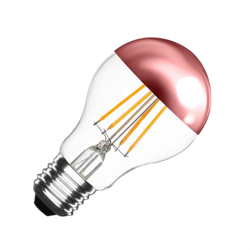 Bombilla LED E27 Regulable Filamento Copper Reflect Classic A60 6W