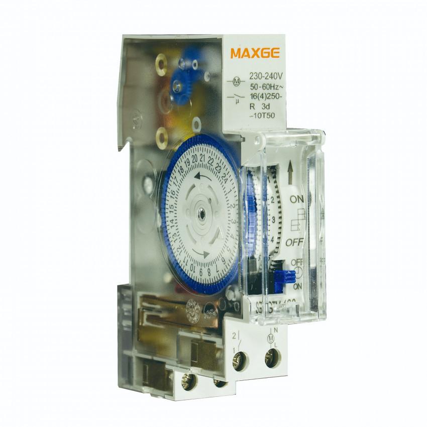 Interruptor Horario Modular MAXGE con Reserva de 70h SGTM-180