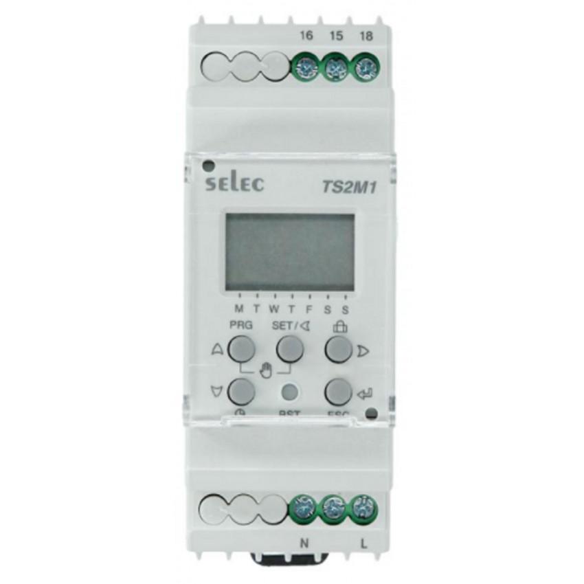 Temporizador Digital Semanal TS2M1-1-16A