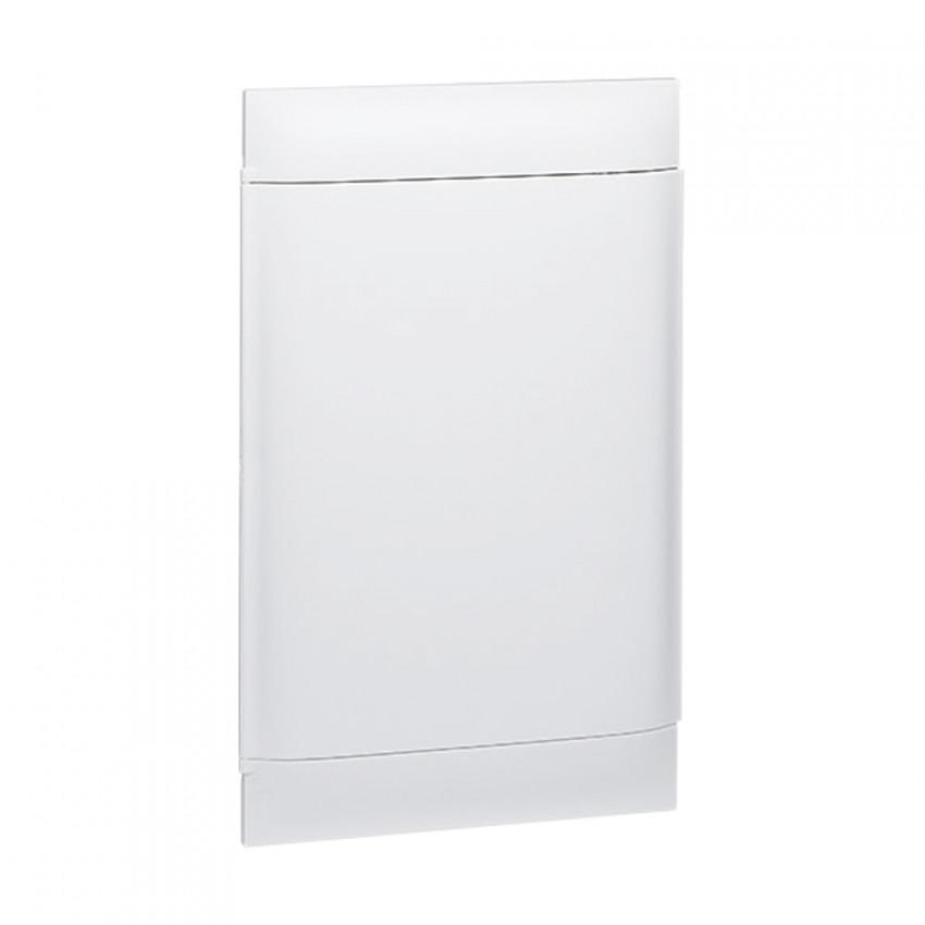 Caixa de Encastrar Practibox S para Divisórias Pré-fabricadas Porta Lisa 3x12 Módulos LEGRAND 135063