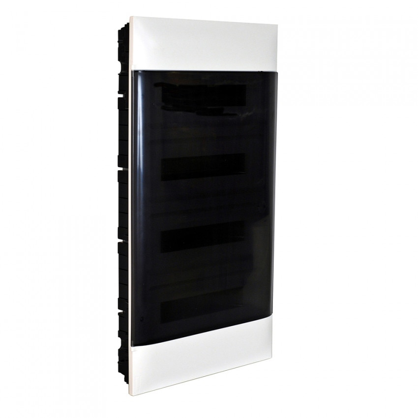 Caixa de Encastrar Practibox S para Divisórias Pré-fabricadas Porta Transparente 4x18 Módulos LEGRAND 137079