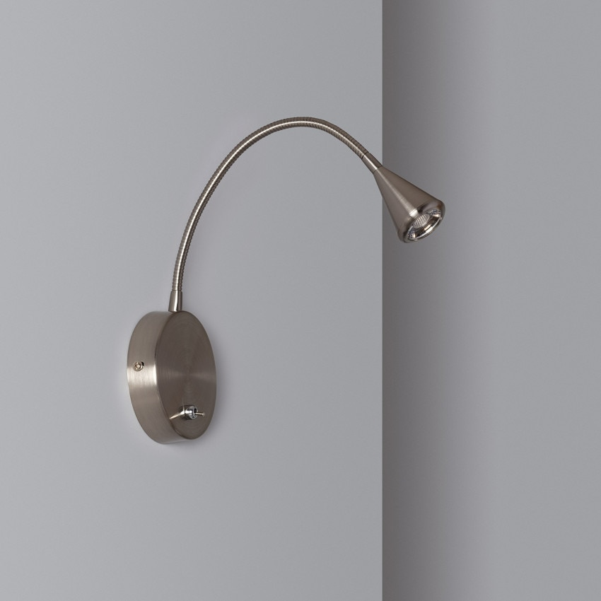 Lámpara de Pared LED con Interruptor 4.2W