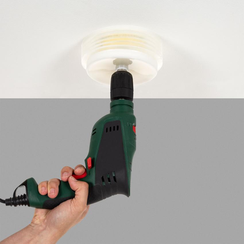 Corona Perforadora para Downlight con Recoge Polvo Varios Diámetros