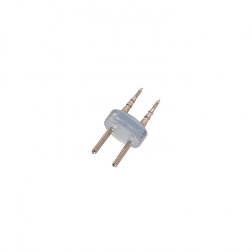 Conector 2 PIN para Mangueira LED 220V AC IP65 Corte a cada 100cm