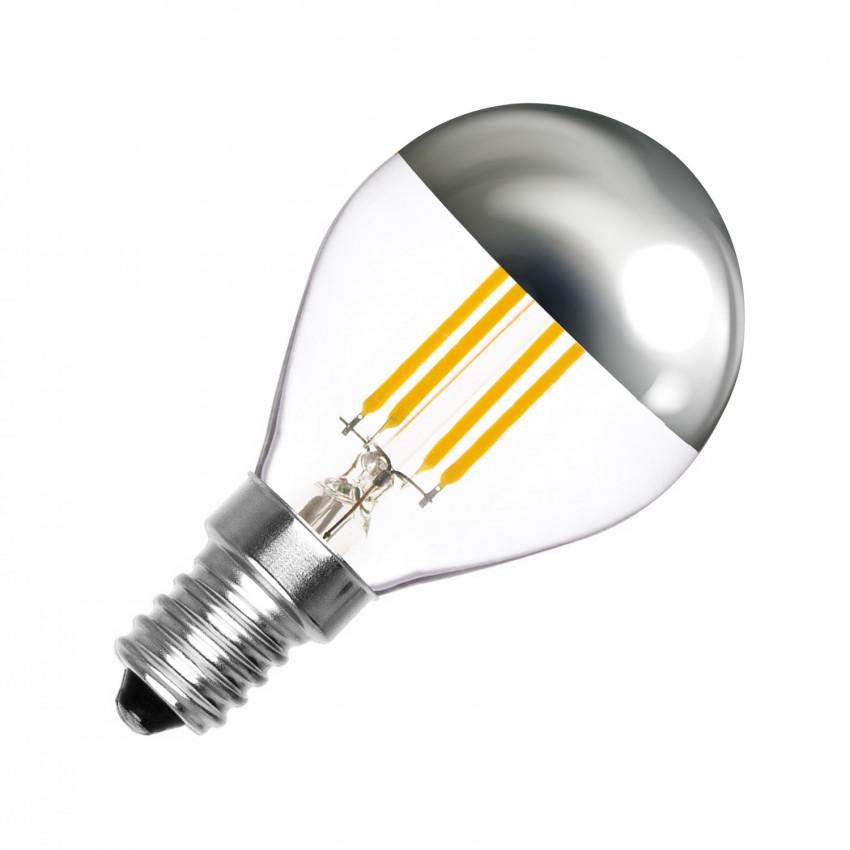 Bombilla LED E14 Regulable Filamento Reflect G45 3.5W