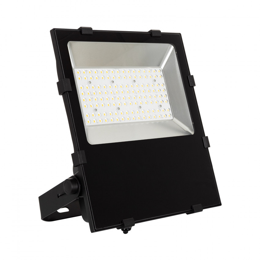 Foco Projetor LED 100W 160 lm/W IP65 HE Slim PRO 90º Regulável TRIAC