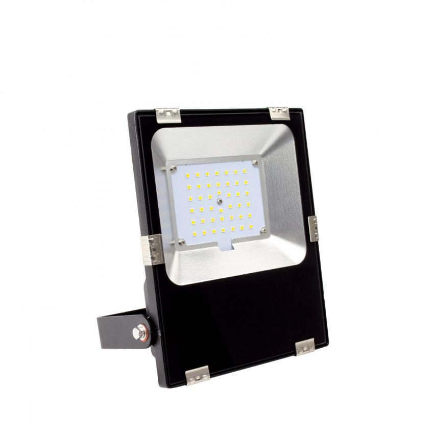 Foco Proyector LED 30W 160 lm/W IP65 HE Slim PRO 120º Regulable TRIAC
