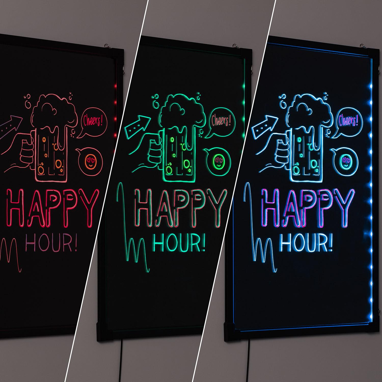 Lousa LED RGB 4W