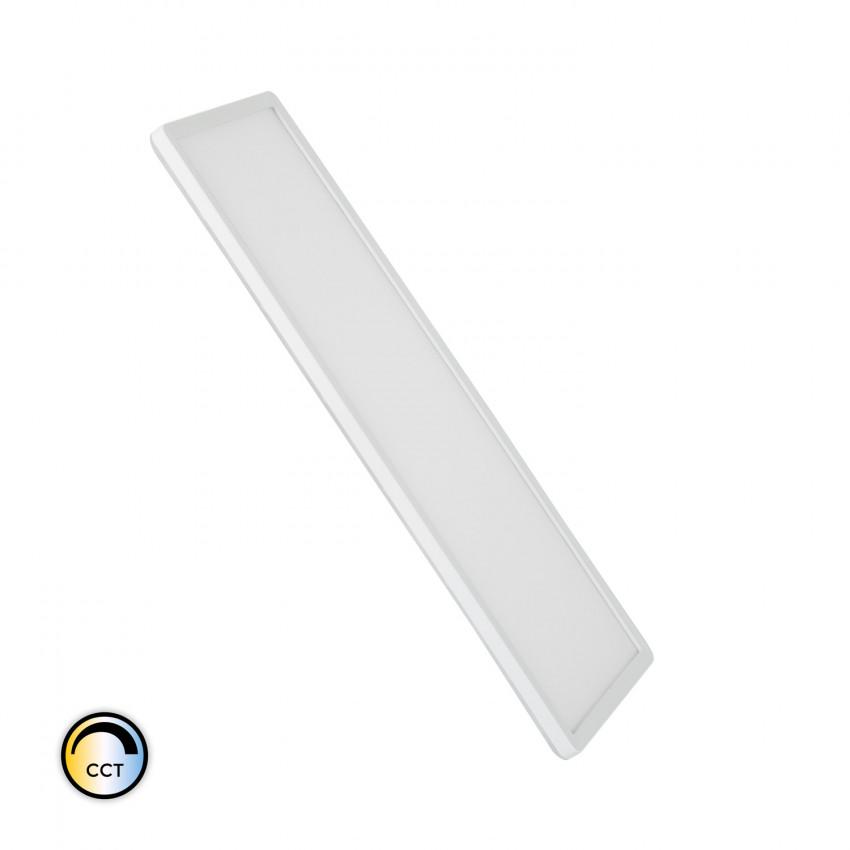 Plafón LED 24W Retangular CCT Seleccionável Duas Caras