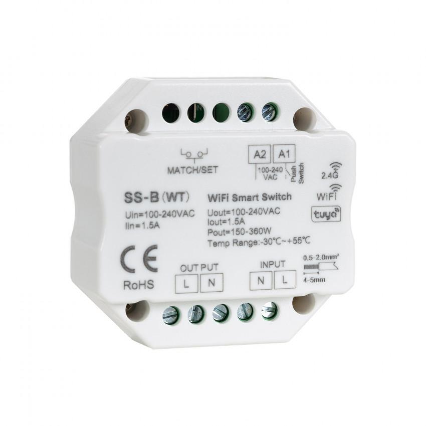 Regulador LED Triac RF/Pulsador