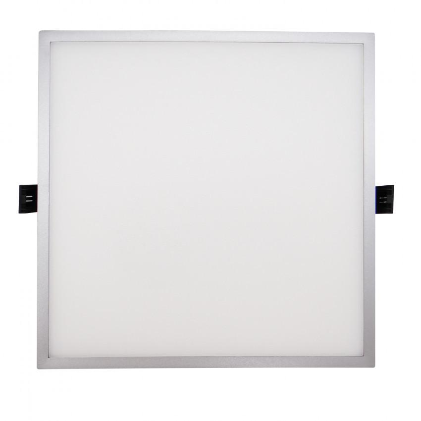 Placa LED 16W Quadrada Slim Surface (UGR19) LIFUD Cinzento Corte Ø135 mm