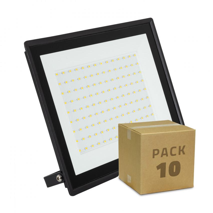 Pack Foco Projetor LED 100W Solid IP65 (10 un)