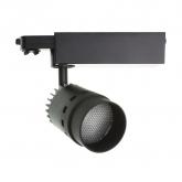 Foco LED Cannon para Carril Trifásico 20W Black
