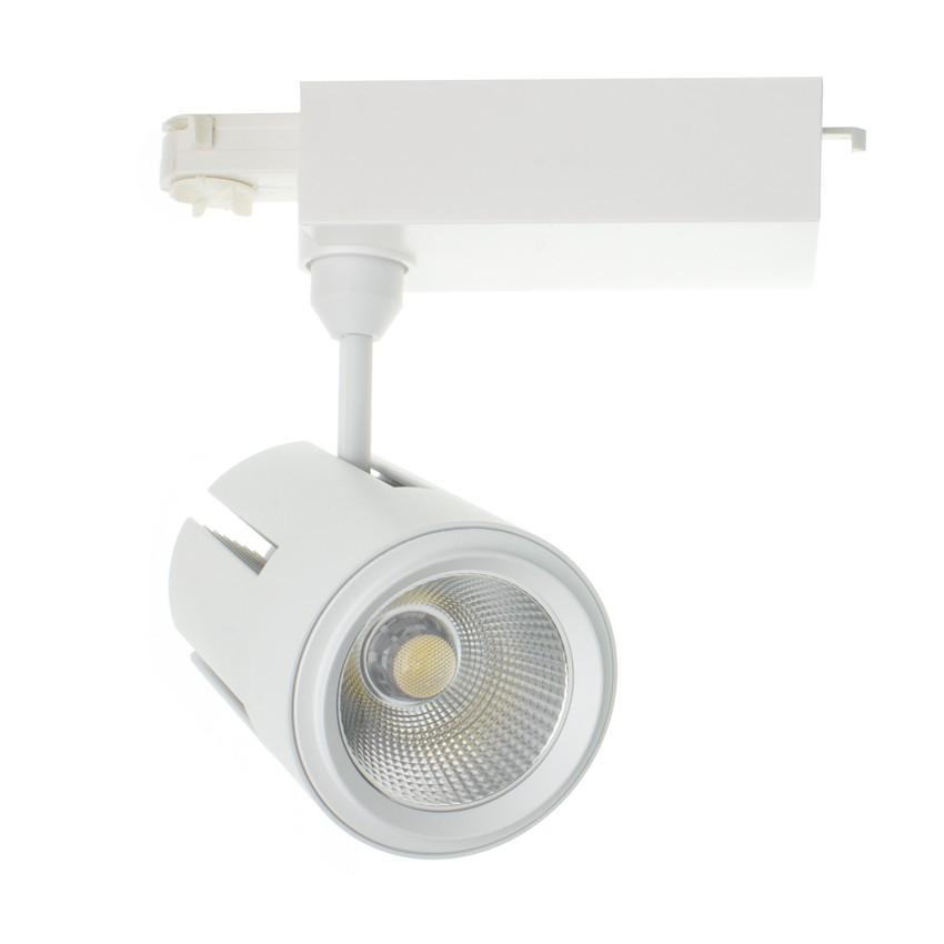 Foco LED Gatling para Carril Trifásico 40W