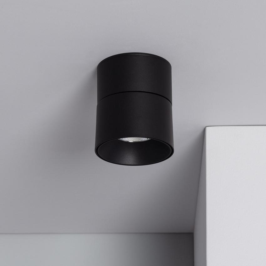 Aplique LED New Onuba 7W Circular Negro