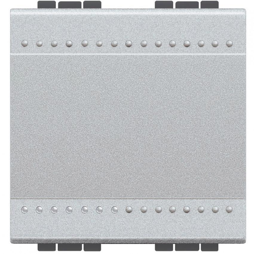 Mecanismo Interruptor Conmutador 2 Módulos 16AX Borne Auto BTicino Living Light NT4003M2A