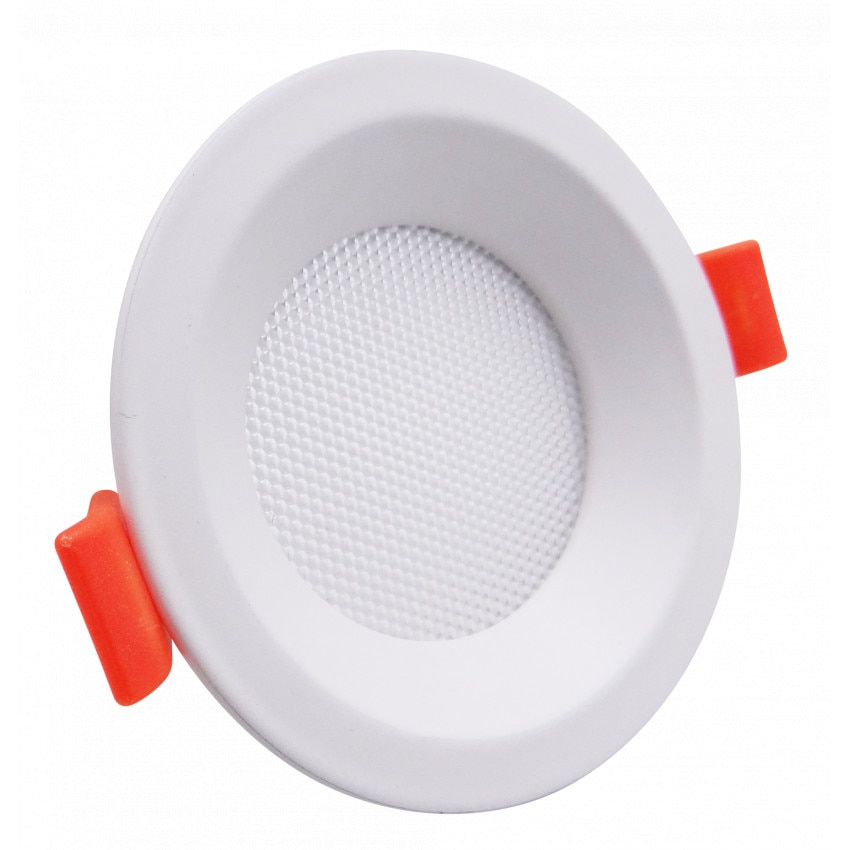 Placa LED 7W Circular Slim Corte Ø 90 mm