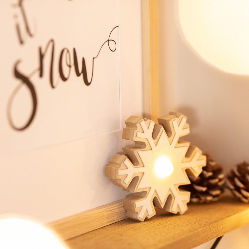 Copo de Nieve LED con Batería