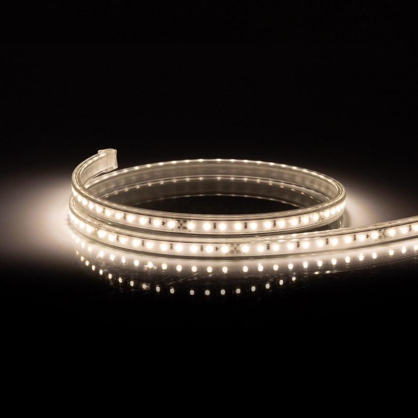 Tira LED Regulable 220V AC 100 LED/m Blanco Neutro IP67 a Medida Corte cada 25 cm