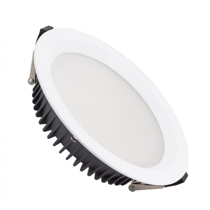 Downight LED SAMSUNG New Aero Microprismático24W (UGR17) 4000K LIFUD Corte Ø 185 mm