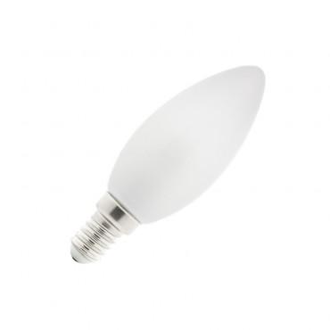 Comprar Bombilla LED E14 Vela Glass 4W - efectoLED