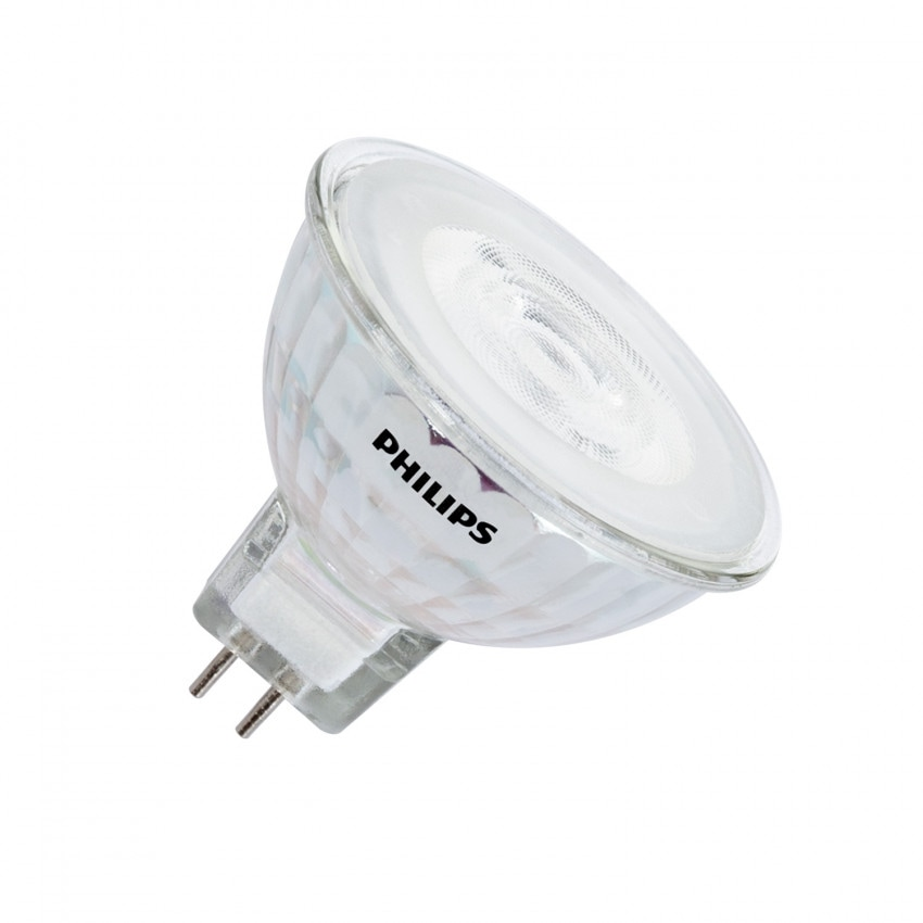 Lâmpada LED GU5.3 MR16 12V Regulável PHILIPS SpotVLE 36º 7W