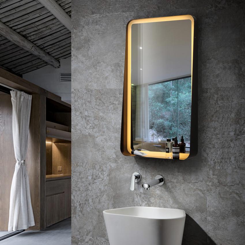 Espelho Decorativo LED Anti-embaçamento  Táctil Seychelles 45W