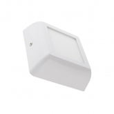 Plafón LED Cuadrado White Design 6W