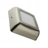 Plafón LED Cuadrado Silver Design 6W