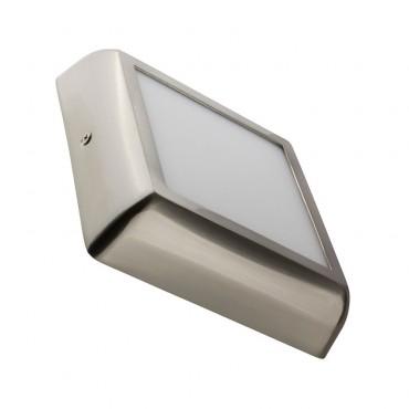 Plafón LED Cuadrado Silver Design 12W