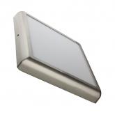 Plafón LED Cuadrado Silver Design 24W