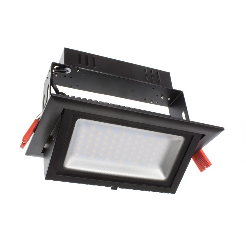 Foco Projector LED SAMSUNG 120lm/W Direccionável Rectangular Preto 28W LIFUD