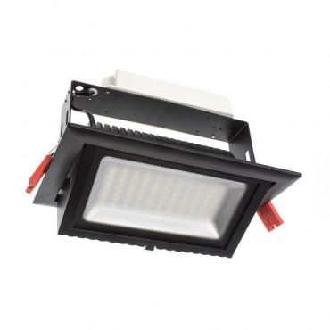 Direccionable 120 Proyector Led Negro Lifud 48w Lmw Rectangular Foco Samsung 5Lq4RA3j