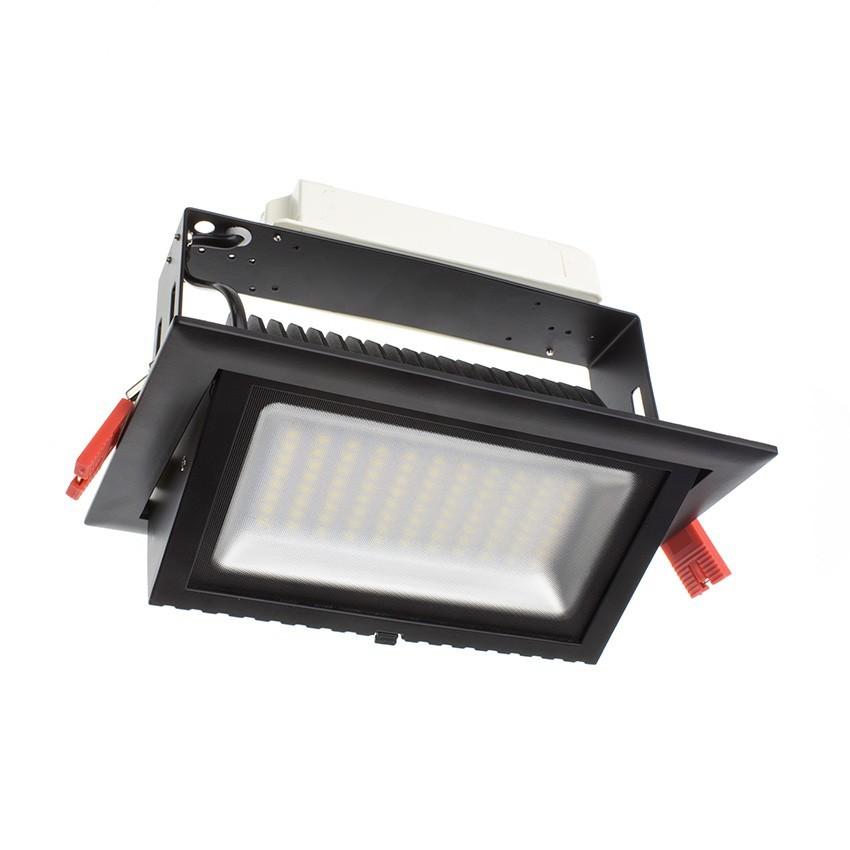 Foco Proyector Direccionable Rectangular LED 48W SAMSUNG 120 lm/W Negro LIFUD